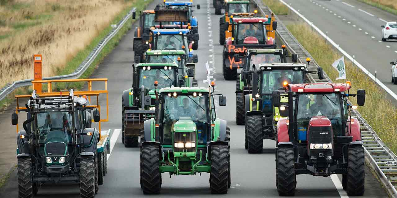 Manifestation des agriculteurs jeudi à Mans