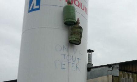 GM&S Grève à l'usine La Souterraine