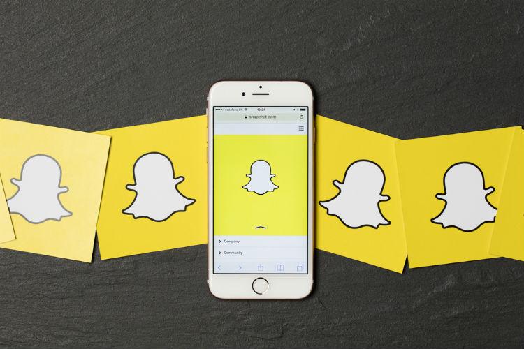 Nouvelle mise à jour Snapchat